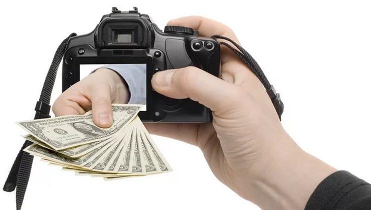 Сколько можно заработать на фотографиях