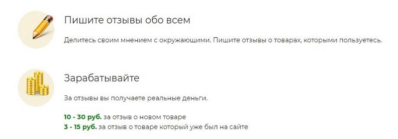Сколько можно заработать на сайте Vseotzyvy