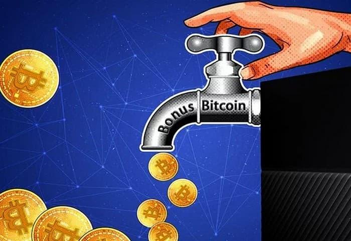 Bonus Bitcoin кран