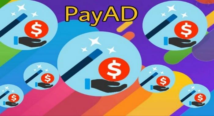 Payad - браузерное расширение для заработка