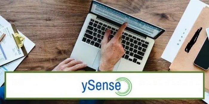 Ysense - зарубежный сайт опросник