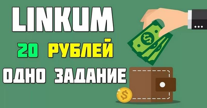 Заработать денег работая в Linkum