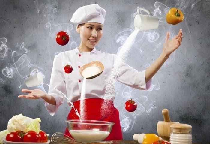 Помощь в приготовлению пищи по Skype
